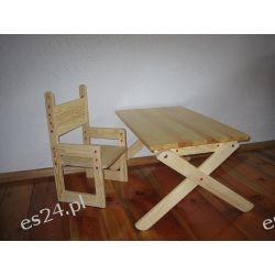 Stolik i krzesełko rosnące z dzieckim