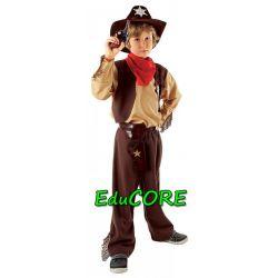 KOWBOJ Dziki Zachód strój kostium 122/128 EduCORE