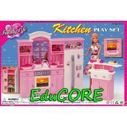 KUCHNIA DUŻA mebelki lalka Barbie ee144 EduCORE