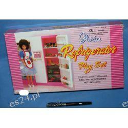 LODÓWKA kuchnia mebelki  Barbie e038 EduCORE