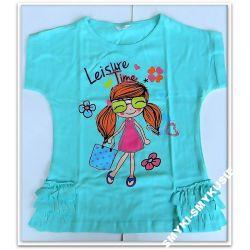 -30%SUPER GIRL bluzka tuniczka 104(4l)prod POLSKI Bluzki