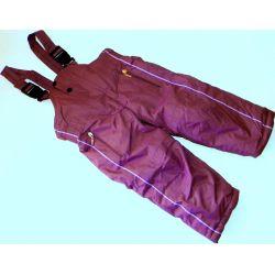 Spodnie ociepl.do Kombinezonu 98/104(2L)oberżyna