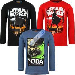 STAR WARS YODA bluzka licencja116(6L)grafitowy Bluzki