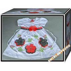 SALE Sukienka w KWIATY 98/104(3l)-2 Bluzki