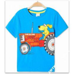 FARM MACHINE C&A bluzka134(9l)Nowośc z Niemiec Rozmiar 134