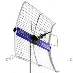 ASR-860 Szerokopasmowa antena reflektorowa do odbioru sygnalu naziemnej telewizji cyfrowej DVB-T, producent-TELKOM-TELMOR