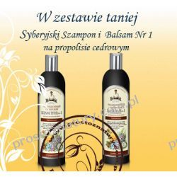 Syberyjski Szampon oraz Balsam Propolisowy Nr 1