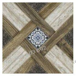 Tania płytka drewnopodobna 45x45 Castle Ebano Hiszpania Dualgres Podłogi