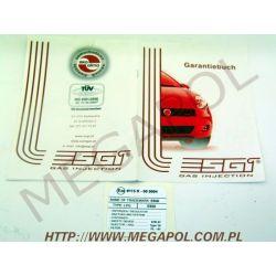 Wtrysk ESGI/4cyl.R115 VW 85KW...