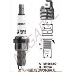 Swieca AR12YS Brisk/10x1.25mm lpg/cng...