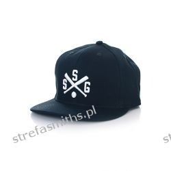 Czapka SSG Full Cap (granatowa) Kurtki
