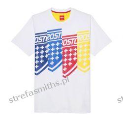 Koszulka Prosto SCREEN White Odzież i bielizna męska