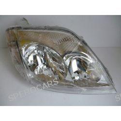 Reflektor świateł TYC 20-0266-05-2 Toyota COROLLA kombi (_E12J_, _E12T_), COROLLA sedan (_E12J_, _E12T_) LEWY