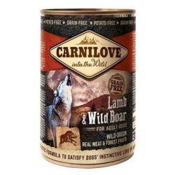 Carnilove Wild Meat Lamb & Wild Boar for Adult Dogs 400g Puszki i saszetki