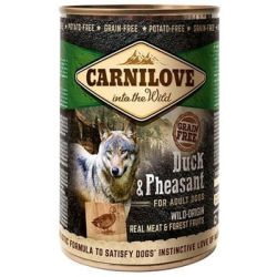 Carnilove Wild Meat Duck & Pheasant for Adult Dogs 400g Sucha karma