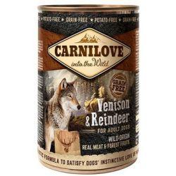 Carnilove Adult Wild Meat Venison & Reindeer for Adult Dogs 400g Smakołyki