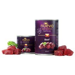 NUEVO Super Premium Beef karma dla kotów bogata w wołowinę 200g Sucha karma