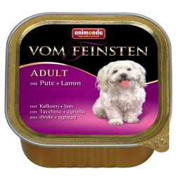 Animonda Vom Feinsten Classic Adult indyk z jagnięciną 150g Puszki i saszetki