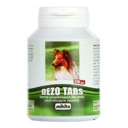 MIKITA Dezo Tabs tabletki z chlorofilem na świeży oddech psa 120tabl Smakołyki