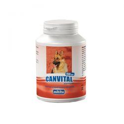 MIKITA Canvital + karnityna WITAMINY dla psa  Puszki i saszetki