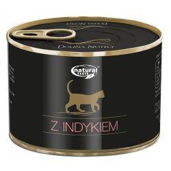 Dolina Noteci Natural Taste Cat z indykiem 185g - mokra karma dla kota bogata w indyka Puszki i saszetki