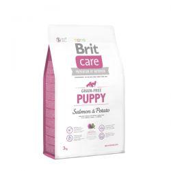 Brit Care Grain Free Puppy Salmon & Potato 3kg - karma dla szczeniąt Puszki i saszetki