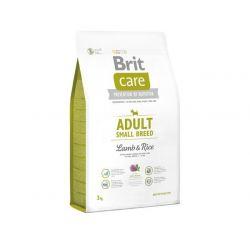 Brit Care New Adult Small Breed Lamb & Rice 3kg - karma dla dorosłych małych psów Puszki i saszetki