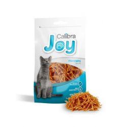 Calibra Joy Fish Stripes for cats 70g  Zwierzęta