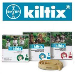 Bayer Kiltix - obroża przeciw pchłom i kleszczom dla psów, rozmiar L, DUŻA 70cm Puszki i saszetki