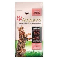 Applaws Cat Adult Chicken & Salmon 400g Dom i Ogród
