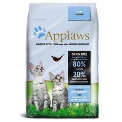 Applaws Cat Kitten Chicken 400g Dom i Ogród