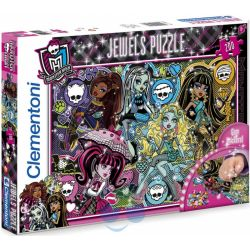 PUZZLE MONSTER HIGH JEWELS Z BRYLANCIKAMI