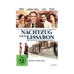 Film: Nachtzug nach Lissabon  von Pascal Mercier von Bille August mit Jeremy Irons, Mélanie Laurent, Jack Huston, Martina Gedeck, August Diehl