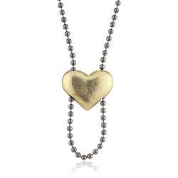 Pilgrim Damen-Halskette aus der Serie Charms Hematite beschichtet Gold 90 cm 40122-9006