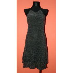 srebrna sukienka (M/L)