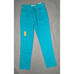 spodnie dżinsy wysoki stan STRESS pas 64 cm