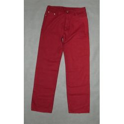 bordowe spodnie dżinsy, wysoki stan, pas 78 cm