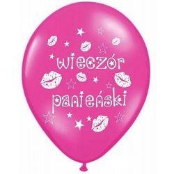 Balon na wieczór panieński 10 WZORÓW balony Przebrania, kostiumy, maski