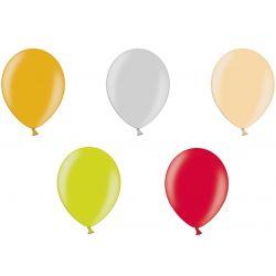 Balony 25cm Metaliczne 5 sztuk, ślub 27 kolorów ! Ślub i wesele
