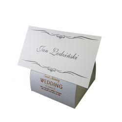 Winietki Podziękowania pudełko z sentencją wesele Ślub i wesele