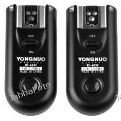 Yongnuo RF-603 C1 do Canon EOS 600D, 550D, 500D, 450D, 400D, 350D, 1100D, 60D
