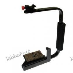 Bracket Tiffen Stroboframe Cameraflip + kabel synchro Olympus