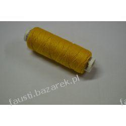 Lniane Nici Żółte/Miodowe 50m Rękodzieło