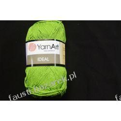 Włóczka Ideal Zielona 235 Koronki i hafty