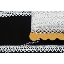 Koronka Bawełniana Biała 15mm/1mb Koronki i hafty