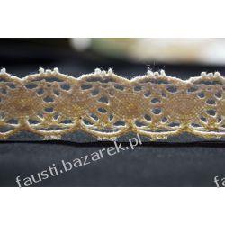 Koronka Bawełniana Ecru 20mm/1mb Koronki i hafty