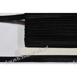 Wypustka Atłasowa Czarna 10mm/25mb Koronki i hafty