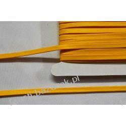 Lamówka Eko Skóra Żółta 5mm/25mb Rękodzieło
