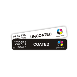 Wzornik CMYK Colour Process Scale - powlekany i niepowlekany