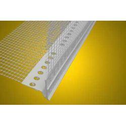 Listwa PCV okapnikowa LUX podtynkowy z siatką - kapinos - 3,0m...
